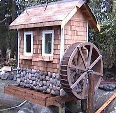 6 foot Water Wheel by Sullivan Water Wheels