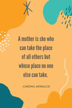 We see all you moms out there filling many roles and wearing many hats. You're a chef, chauffeur, teacher, comforter, planner-extraordinaire, house-decorator, wife, daughter, single-parent and so many other amazing things for your families. You are irreplaceable in your children's lives. Take comfort knowing that no one can assume the role as mother like you can. 💖 #momsbelike #inspirationalquotes