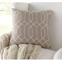Janice Linen Pillow Cover