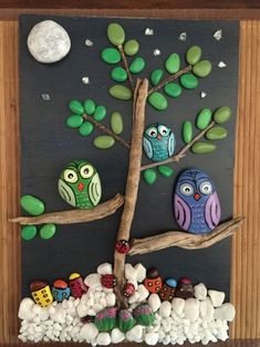 32 Awesome Cute Rock Painting Design Ideas