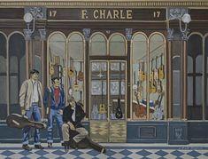 R & F Charle, The Shop, stringed musical instruments, guitars, banjos, mandolins, ukuleles