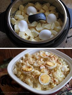 Quick Potato Salad in the Pressure Cooker from Pressure Cooking Today