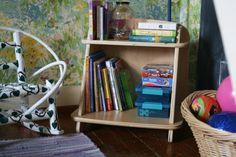 Sodura's Aero Small Bookcase in reading nook