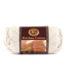 Love this Vanilla Kitchen Cotton Yarn - Set of Three on #zulily! #zulilyfinds