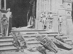 Quema de conventos, bibliotecas y aulas durante la Guerra Civil Española