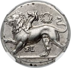 Ancients:Greek, PELOPONNESUS. Sicyon. Ca. 400-323 BC. AR stater (25mm, 12....