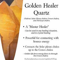 Golden Healer Quartz crystal meaning