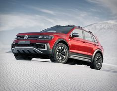 German automaker Volkswagen have just announced the all new 2018 Tiguan, but what really caught our attention was this radical concept that could well be close to a production reality. The spectacular VW Tiguan GTE Active features a 148-hp gasoline e