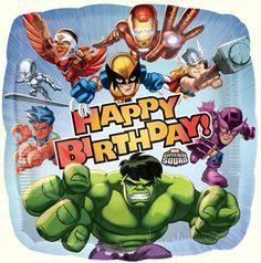 Marvel Happy Birthday Balloon