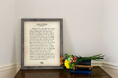 Curl up with a classic and a mug of something warm. This blown-up book page wall art is for all bibliophiles! Up Book, Book Of Life, Book Pages, Book Art, Eden Book, Giant Wall Art, East Of Eden, Book Gifts, Holiday Gift Guide