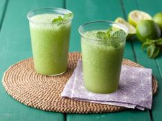 Refreshing Frozen Mojitos