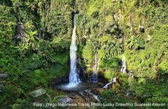 Orok Waterfall Garut, West Java Indonesia