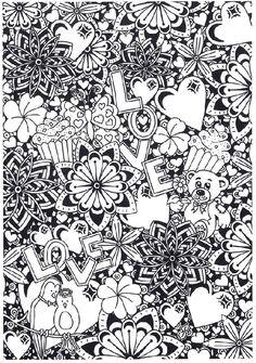 Mooie Valentijn kleurplaten van Suzanne Amels! (454)