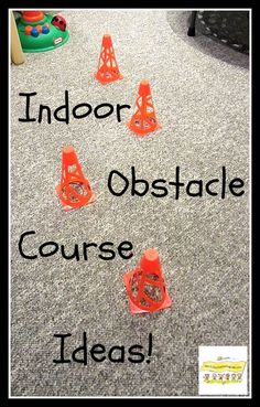 Indoor Obstacle Course Ideas for All Ages! - How To Run A Home Daycare - Indoor Obstacle Course Ideas for Boys HowToRunAHomeDayc… play for boys rainy day fu - Movement Activities, Gross Motor Activities, Indoor Activities For Kids, Gross Motor Skills, Preschool Activities, Therapy Activities, Summer Activities, Music Activities, Party Activities