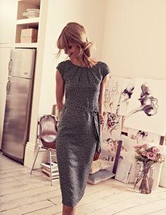 Natalie Dress Knee Length Dresses at Boden Dresses For Sale, Cute Dresses, Dresses For Work, Modest Outfits, Modest Fashion, Modest Dresses, Knee Length Dresses, Short Sleeve Dresses, Sequin Evening Dresses