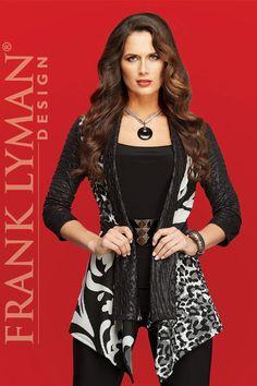 Visit Lorenza Fashion on Facebook to see more Frank Lyman Designs.   http://facebook.com/lorenzafashionwpg