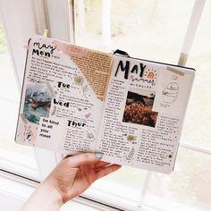 Ideas for the Bullet Journal, inspiration for the Art Journal - # . - Ideas for the Bullet Journal, inspiration for the Art Journal – - Art Journal Pages, Journal D'art, Scrapbook Journal, Journal Layout, Photo Journal, School Scrapbook, Creative Journal, Travel Scrapbook, Bullet Journal Ideas