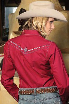 $24.99! CRUEL GIRL CTW919007 RODEO Western Barrel Arena Fit SHIRT COWGIRL NWT MEDIUM #CruelGirl #Western