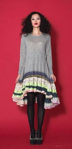 Beautiful Crochet From Fashion Designer CeliaB http://www.crochetconcupiscence.com/2014/11/beautiful-crochet-from-fashion-designer-celiab/