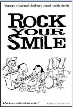 New Dental Health Month Coloring Pages 77 February is National Children