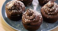These Vegan, Gluten-Free Chocolate Cupcakes are Made With a Secret Veggie Ingredient