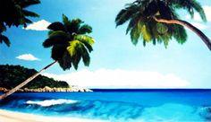 Quadro Pintura by Jorge Marcovich - Caribe -  80x110 cm Ost  Oil Painting Beach