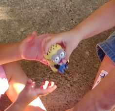 Pass the Minion. When the music stops, child with the Minion is out of the game. Repeat. Last child left gets to keep the minion.