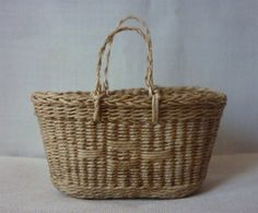 1:12th Scale Miniature Old Style Shopping Basket