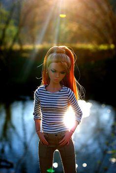 Poppy◉◡◉ Barbie Stuff, Barbie Clothes, Blythe Dolls, Barbie Dolls, Teen Fashion, Fashion Dolls, Styles P, Doll Wardrobe, Barbie Life
