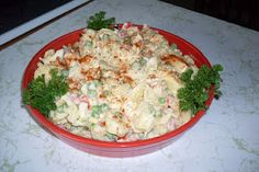 Mom's Sunday Cafe: Macaroni Salad, easy and delicious