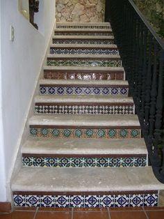 Avente Tile Talk: Top Design Tips For Stair Riser Tiles.