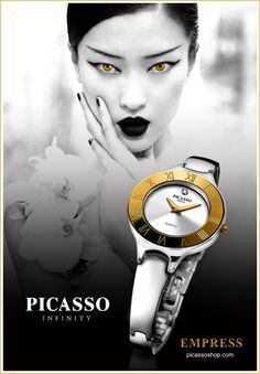 When powerful Men chose to bestow their loved one, their choice is only the best and most exquisite timepieces acting as a symbol of power and exuberance of Love to her. The stunningly elegant EMPRESS by Picasso Infinity, is just the right timepiece to rule her desires by showcasing her beauty that reminds you of her beautifully understated, yet still classic and stylish elegance – the perfect choice of Gift for the woman who knows her place in society