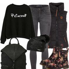 Herbst-Outfits: Blumenprinzessin bei FrauenOutfits.de