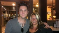 #SynysterGates & Me :) #a7x #Knoxville #TN #May5th2014 #AvengedSevenfold