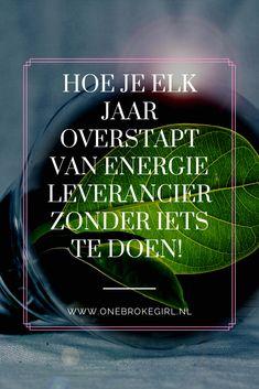 Wist  je dat maar 20% van de Nederlanders elk jaar overstapt van energie leverancier? Hartstikke zonde, want je laat zo tot wel € 400,- op de plank liggen. Maar veel mensen vinden het te veel gedoe.  Voor deze mensen is er nu een oplossing! Want je kunt voortaan ook automatisch overstappen zonder iets te doen. Ik leg je uit hoe je dit doet.   #overstappen #energie #energietarieven #gas #licht #budgetblogger