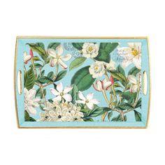 Michel Design Works Gardenia Decoupage Tray
