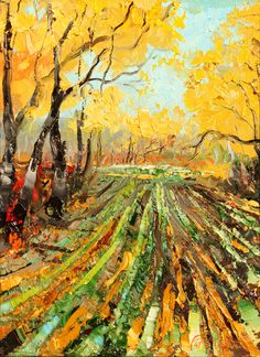 """""""Fall Bounty"""" -  2013 Holiday Show #color #yellow #autumn"""
