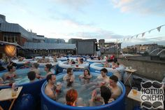 Hot Tub Cinema - London - UK 20 Of The Most Breathtaking Cinemas From Around The World