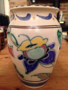 Honiton Pottery Collard vase