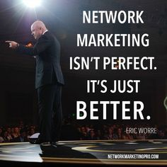 """Network Marketing isn't perfect. It's just better."" Eric Worre We have a better way. Join us! Let be one of us! https://www.youtube.com/embed/RfQLjqehKV8?h1=en&cc_lang_pref=en&cc_load_policy=1 http://istenhozott.flp.com/home.jsf?language=en  https://twitter.com/@gabokakucko https://www.facebook.com/gabokakucko/"