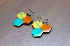 Martinuska / Tri/wood earrings
