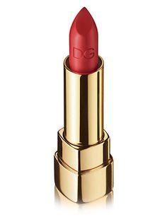 Classic red lip. Dolce & Gabbana - Classic Cream Lipstick - Saks.com
