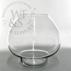 Ball Glass Vase Terrarium  - WholesaleFlowersAndSupplies.com