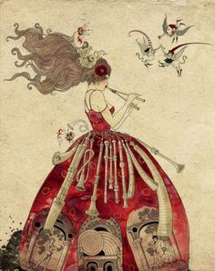 Sveta Dorosheva- pretty girl in a red gown