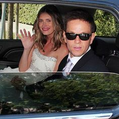 The wedding of Mark Wahlberg and Rhea Durham