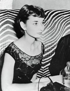 Audrey Hepburn at El Morocco nightclub, 29th November 1951.