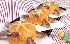 Bratwurst- Schnecken. Kindergeburtstag