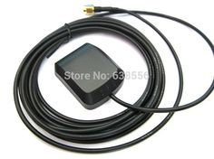 Hot product GPS Antenna with 3M cable SMA male for car Wireless Network GPS signal Extender