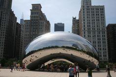 Cloud Gate, Millennium Park, Chicago, Illinois