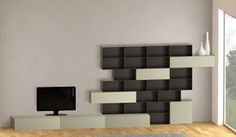Doubleclick open planner YaCUBE and alow you to play with magnetic modular furniture . Modular Furniture, Design Your Own, Living Room Designs, Make Your Own, Shelves, 3d, Play, Cabinet, Interior